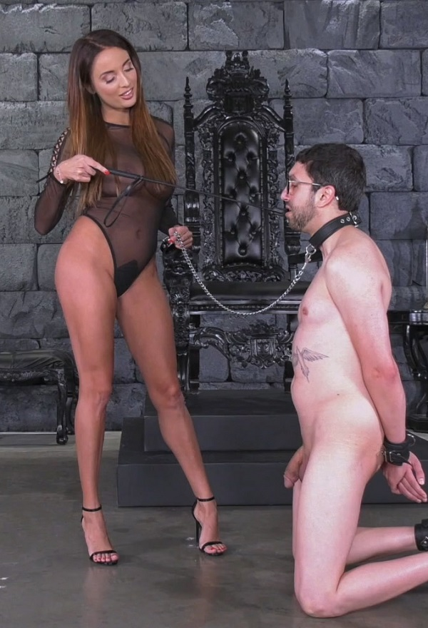 [FemdomEmpire.com] Anissa Kate (Worship Goddess Anissa) [2017 г., Femdom, Brunette, Big Tits, Foot Worship, High Heels, Pornstar, 1080p, HDRip]