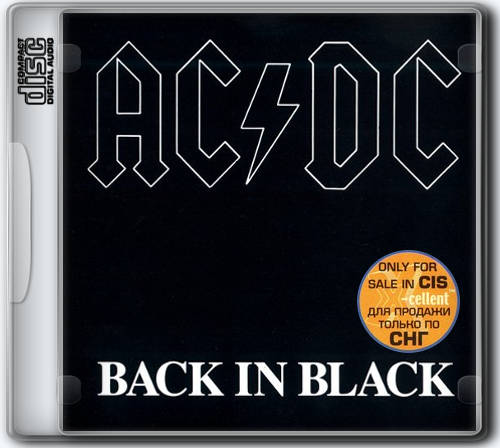 AC/DC - Back In Black (1980) X-Cellent only for sale in CIS, 2003 [FLAC|Lossless|image + .cue] <Hard Rock>