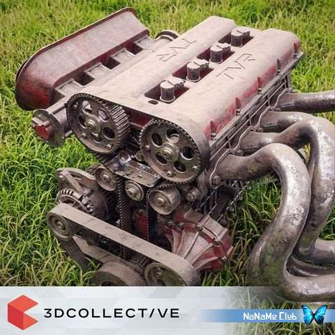 Текстуры - Mastering CGI - 3D Collective – Texture Pack 01 [JPG, PNG]