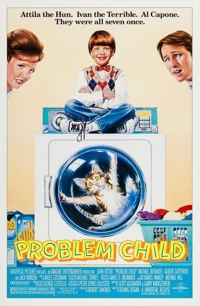 Трудный ребенок / Problem Child (1990) BDRip [H.265/1080p] [10-bit]
