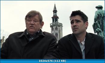 Залечь на дно в Брюгге (2008) HDRip-AVC от Kaztorrents {D | Open Matte}