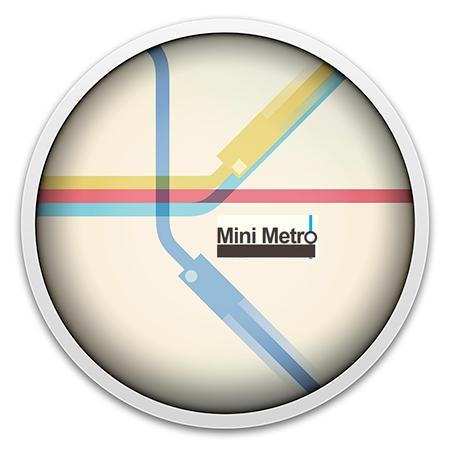 Mini Metro v.gamma 34 (2015) [Multi/Ru] [OS X Native game]