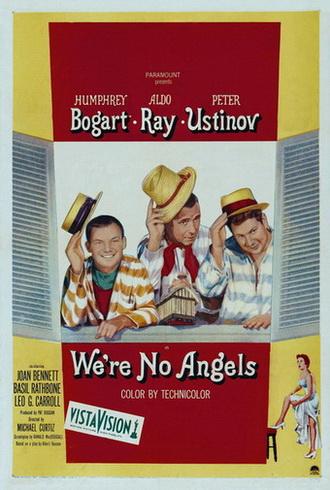 Мы не ангелы / We're No Angels (1955) WEBRip [H.264/1080p]