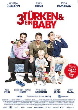 3 турка и 1 младенец / 3 Turken & ein Baby (2015) HDRip [MVO]