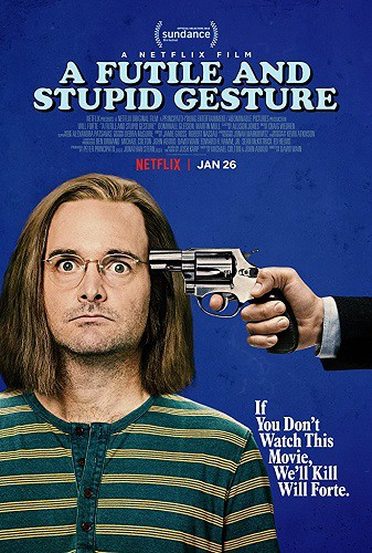 A Futile and Stupid Gesture 2018 HDRip XviD AC3-EVO