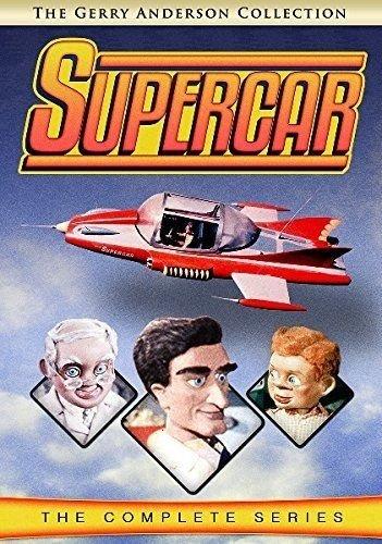 Суперкар / Supercar / Сезон: 2 / Серии: 1-13 из 13 (Алан Паттильо, Дэвид Эллиотт, Дес Саундерс) [1961, Великобритания, фантастика, семейный, DVDRemux] VO + Original
