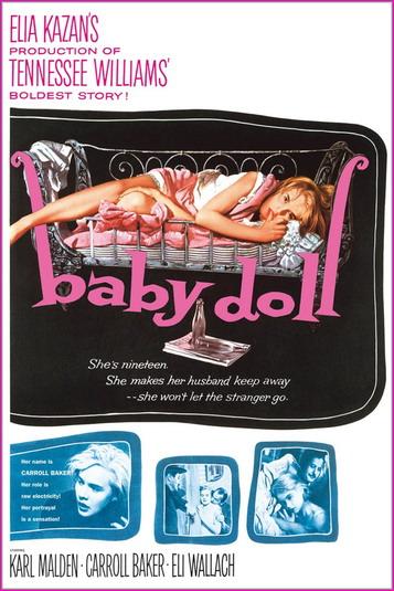 Куколка / Baby Doll (1956) WEBRip 1080p   P, L1