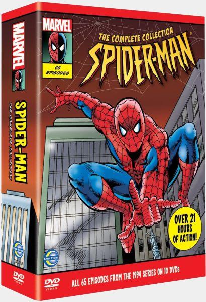 Человек-Паук / Spider-Man: The Animated Series / Сезон: 1-5 / Серии: 1-65 из 65 (Боб Ричардсон / Bob Richardson) [1994-1998, боевик, драма, DVDRip] 2xDUB (НТВ, СТС) + 2xMVO (Ren-TV, Кармен-Видео) + 3xAVO (Живов, Дольский, Гранкин) + Original