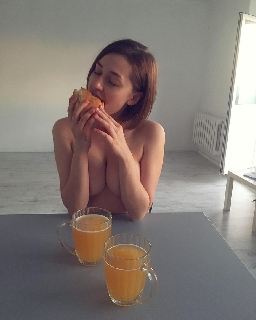 Аппетитная булочка
