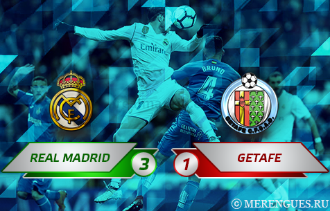 Real Madrid C.F. - Getafe C.F. 3:1
