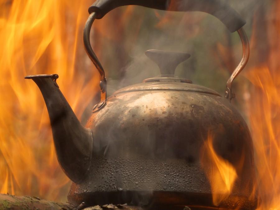 Чай на костре