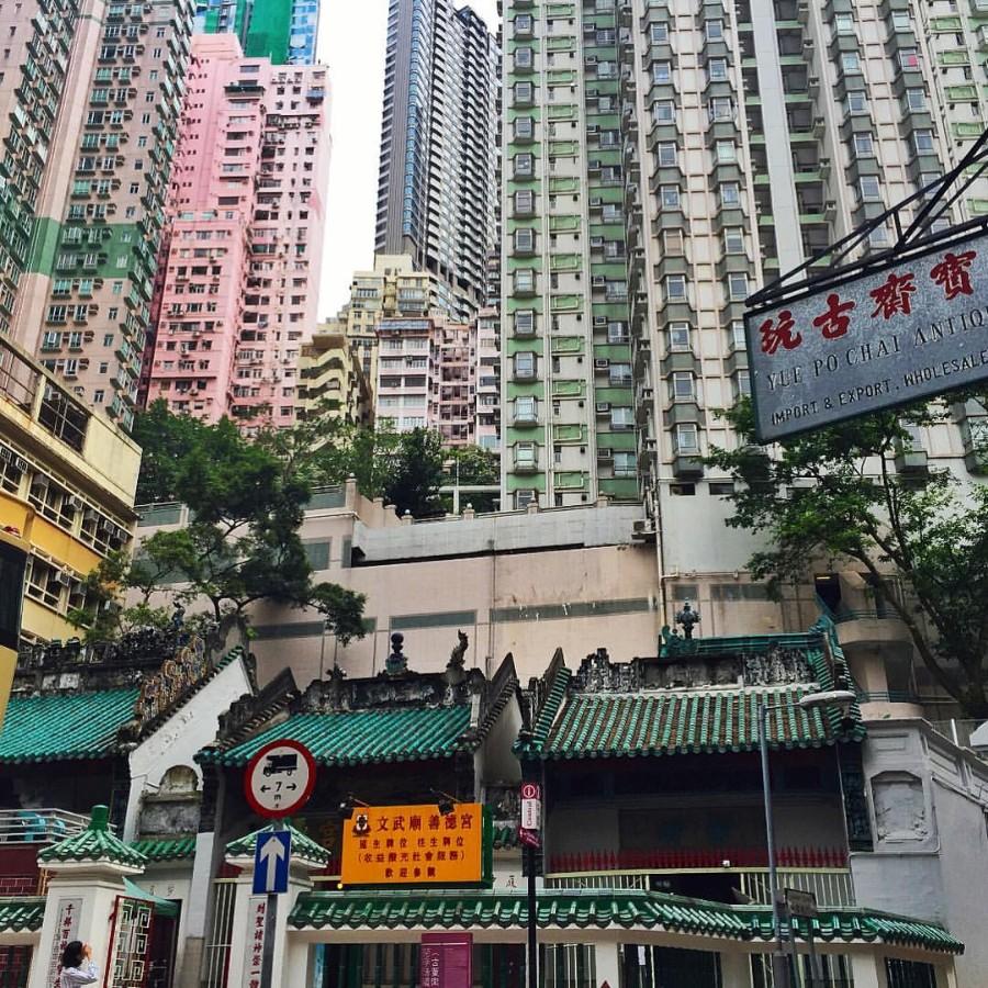 Азиатские улицы