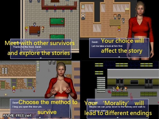 Survivor Sarah / Выживание Сары [2013] [Uncen] [ADV, RPG, 3DCG] [ENG] H-Game