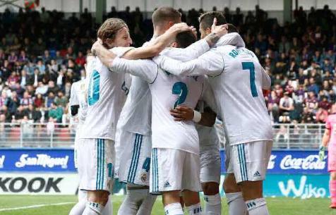 """""""Мадрид"""" лучший по голевым показателям среди команд европейских топ-чемпионатов"""