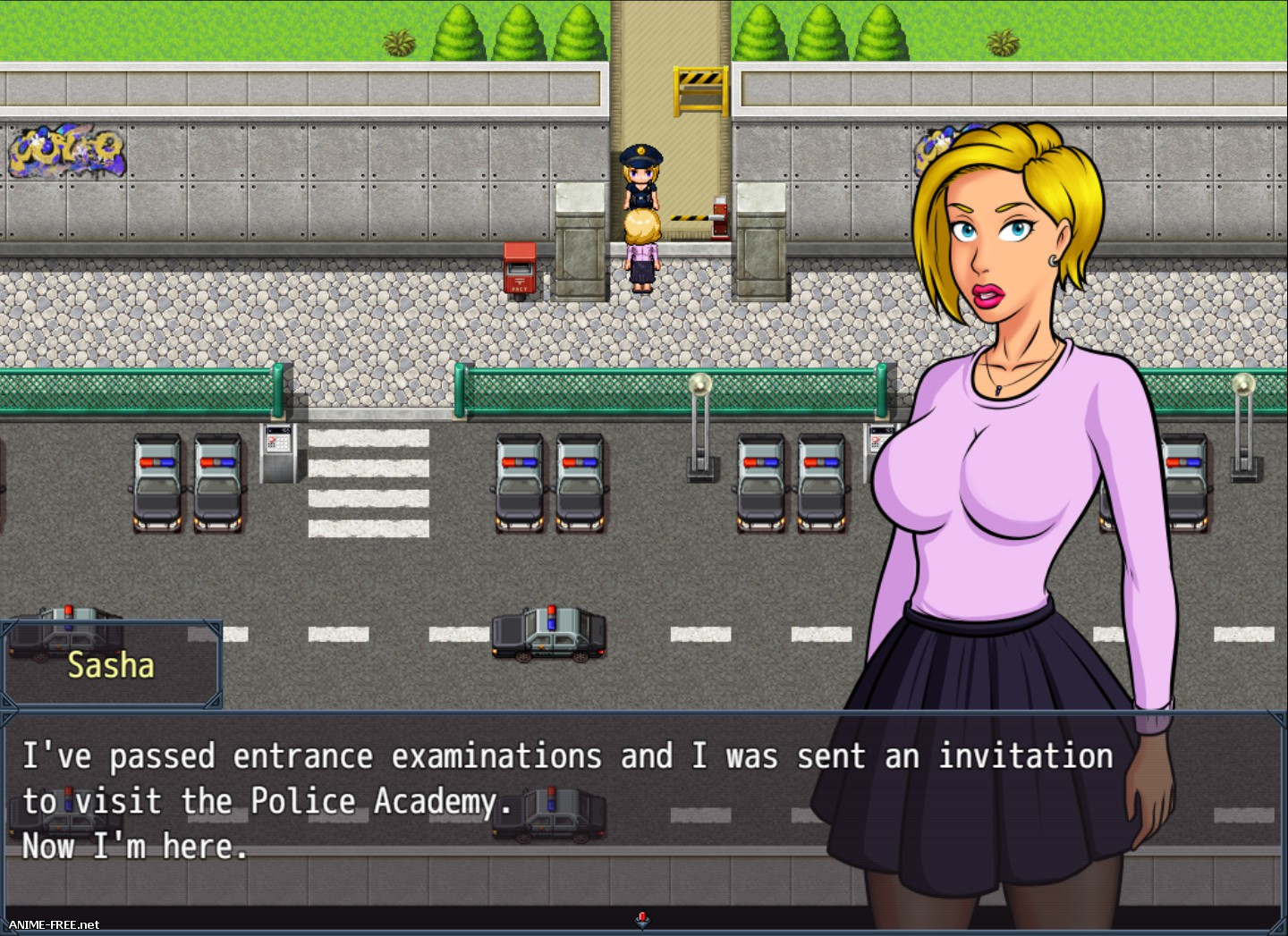 Futa in the Police Academy [2018] [Uncen] [RPG] [ENG] H-Game