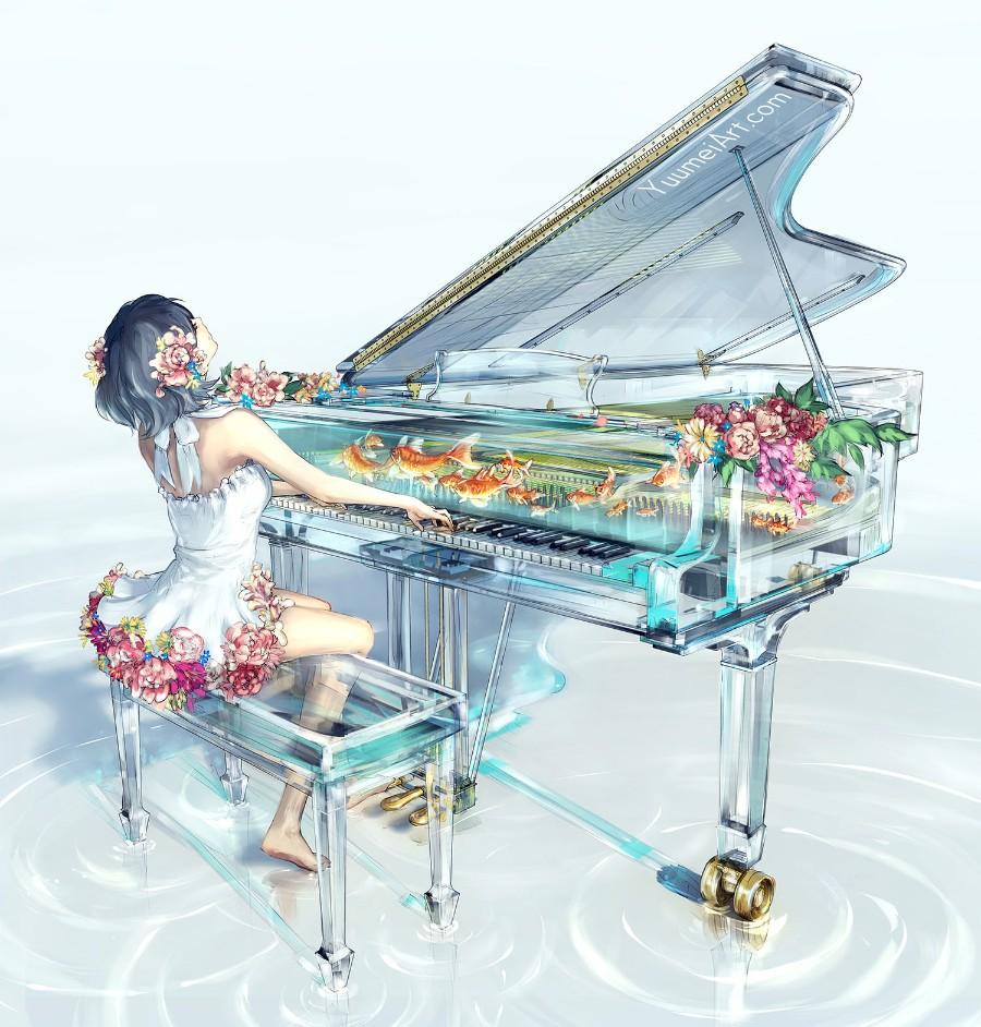 Необычный рояль