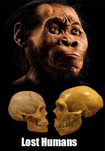 Исчезнувшие люди - драматическая история эволюции человека / Lost Humans (2017) HDTVRip [H.264/720p-LQ] (серии 1-2 из 2)