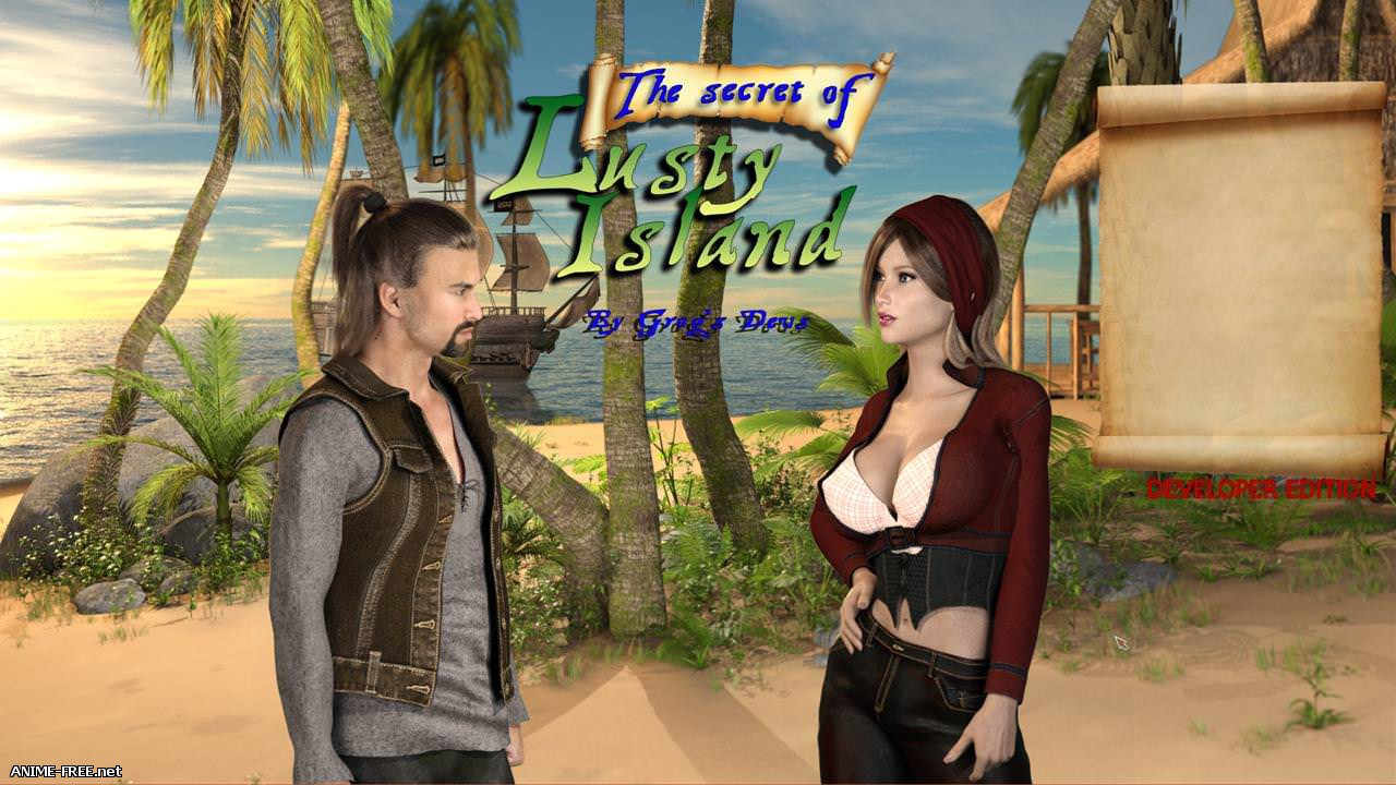 The secret of Lusty Island / Секрет острова страсти [2018] [Uncen] [ADV, 3DCG] [ENG] H-Game