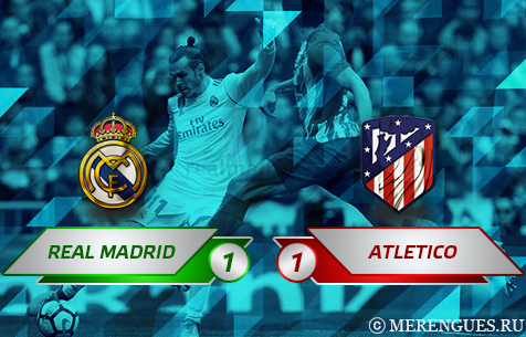 Real Madrid C.F. - Club Atletico de Madrid 1:1