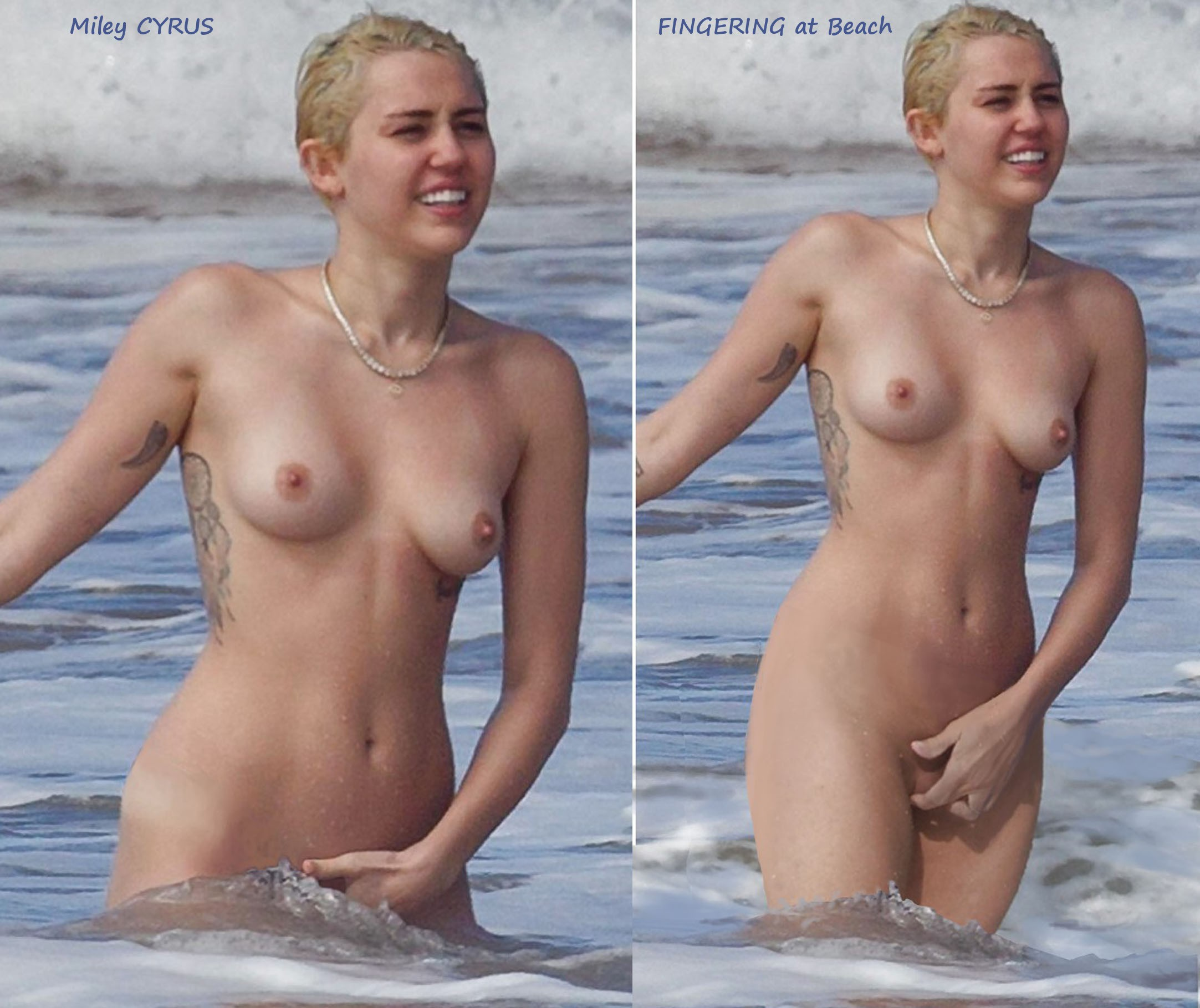 Miley cyrus kissing a girl naked — photo 2