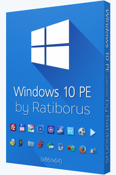 Windows 10 PE by Ratiborus v.5.1.0 [Ru]