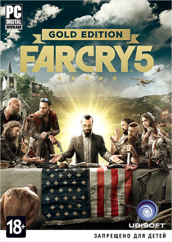 Far Cry 5: Gold Edition [v 1.4.0.0 + DLCs] (2018) PC | Лицензия