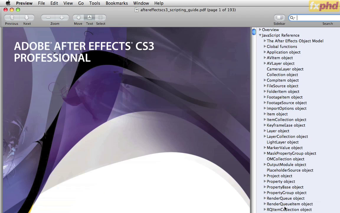 Introduction to After Effects Scripting (2010) PCRec [H.264/720p-LQ]