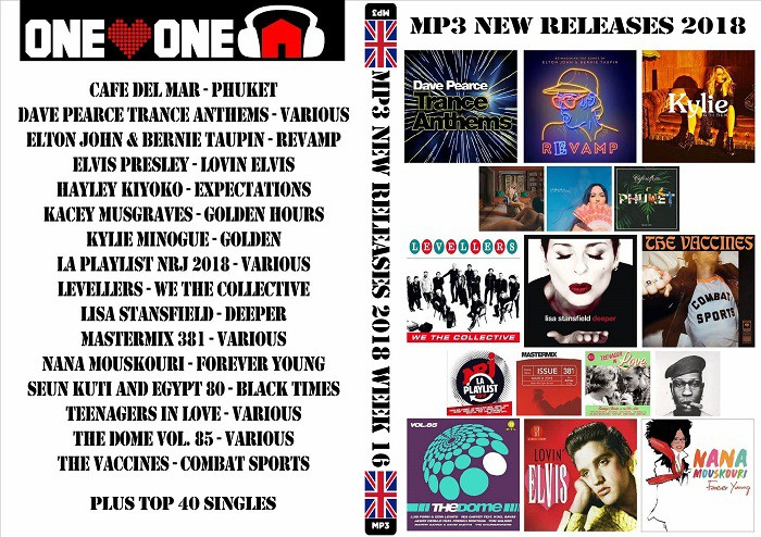 MP3 NEW RELEASES 2018 WEEK 16