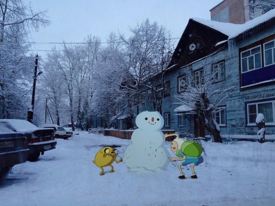 Время снежных приключений