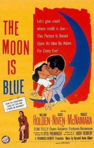 Синяя луна / The Moon Is Blue (Отто Преминджер / Otto Preminger) [1953, США, романтическая комедия, DVD5 (Custom)] VO (Владимир Воронцов) + Original Eng