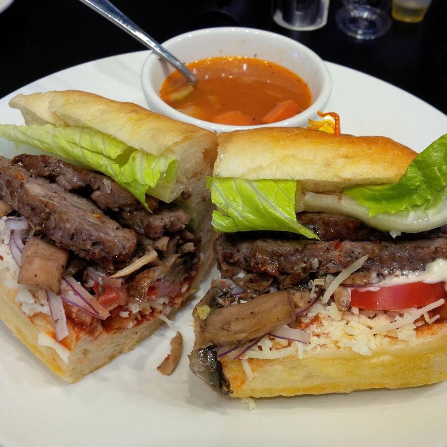 Сочный сендвич