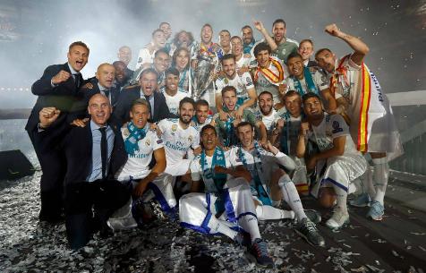 Видео | Празднование в честь победы в Лиге Чемпионов