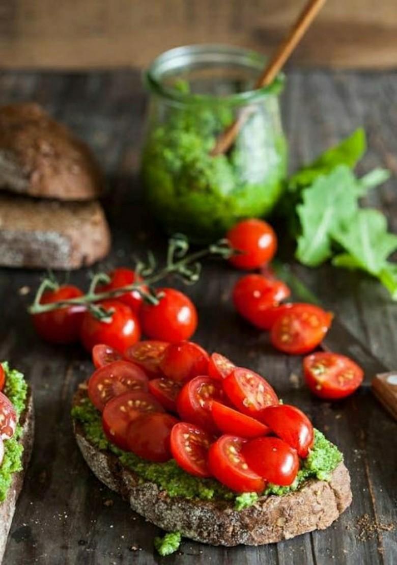 Овощной бутер