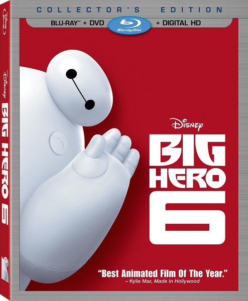 Город героев / Big Hero 6 (2014) BDRip 720p | D, A | Лицензия