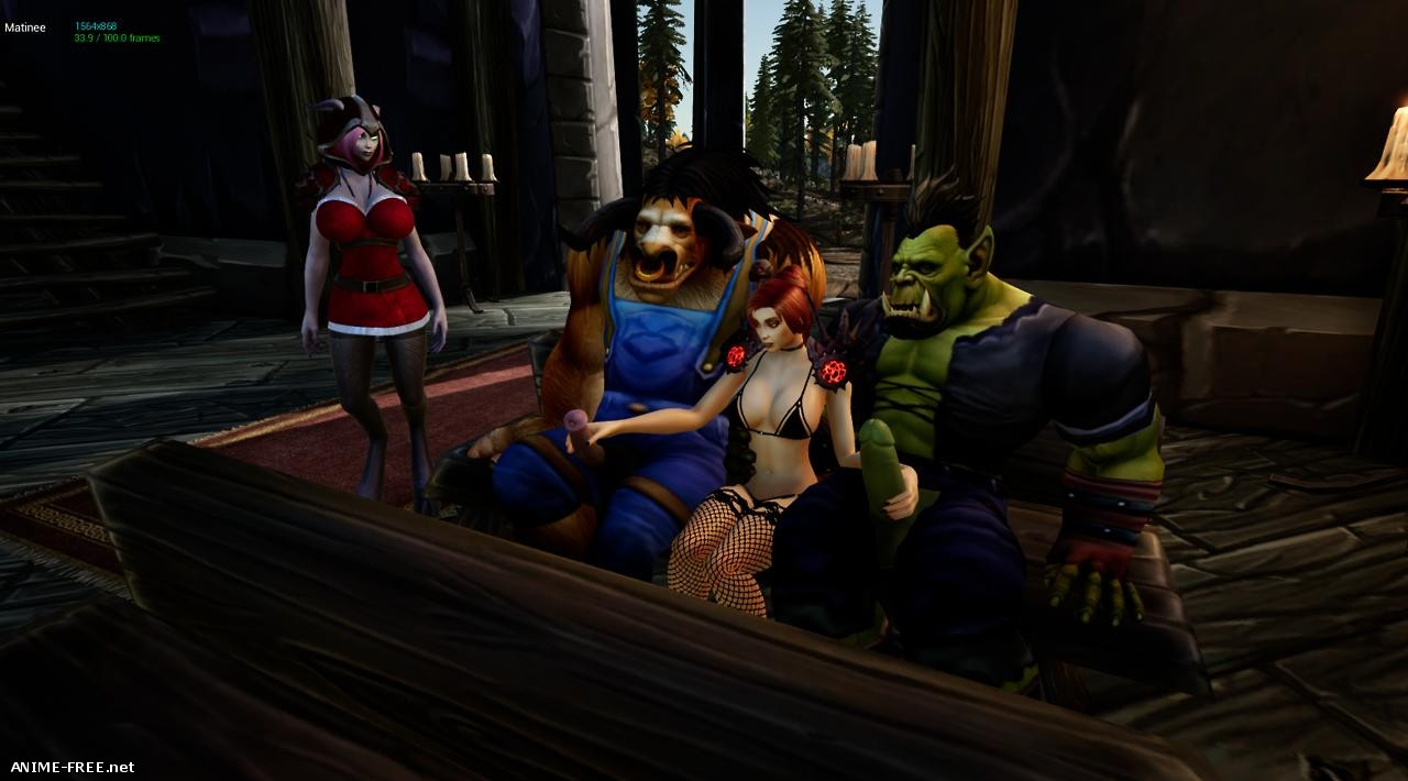 Lewd Red Riding Hoof - Tails of Azeroth Series [2018] [Uncen] [ADV, 3D] [ENG,RUS] H-Game
