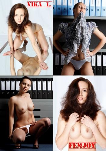 Vika L. - Femjoy / [2011, Эротическая фотография]