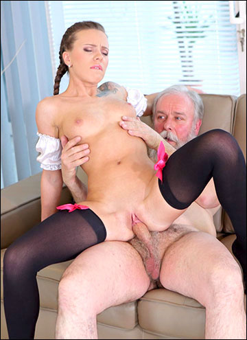 Lita Phoenix - Sexy maid serves old man (2017) SiteRip