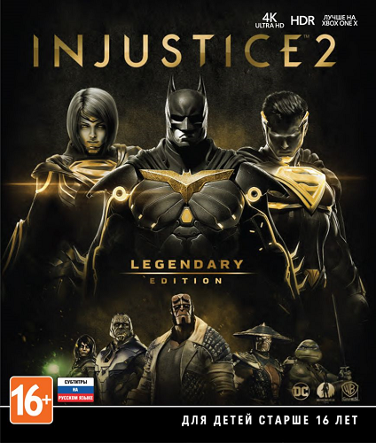 Injustice 2: Legendary Edition [Update 12 + DLCs] (2017) PC | Repack