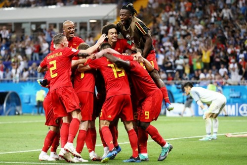 ЧМ-2018.1/8 финала.Бельгия-Япония (обзор) [Футбол]