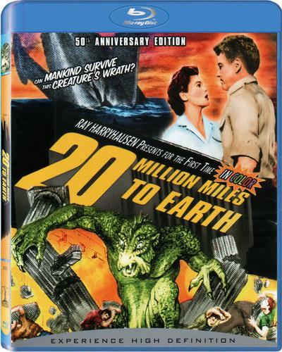 20 миллионов миль от Земли / 20 Million Miles to Earth (1957) BDRemux [H.264/1080p] [Цветная версия]
