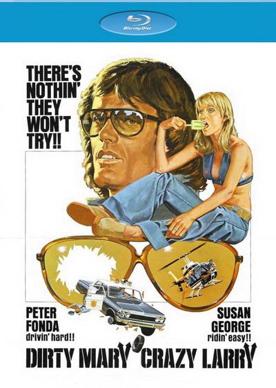 Грязная Мэри, сумасшедший Ларри / Dirty Mary Crazy Larry (1974) BDRemux [H.264/1080p]