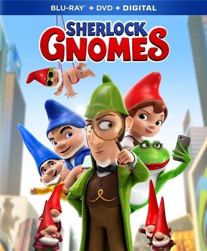 Шерлок Гномс / Sherlock Gnomes (Джон Стивенсон / John Stevenson) [2018, Великобритания, США, мультфильм, фэнтези, комедия, BDRip] Dub (iTunes)