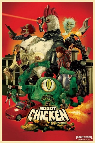 Робоцып /  Robot Chicken [S09] (2018) WEBRip | ColdFilm