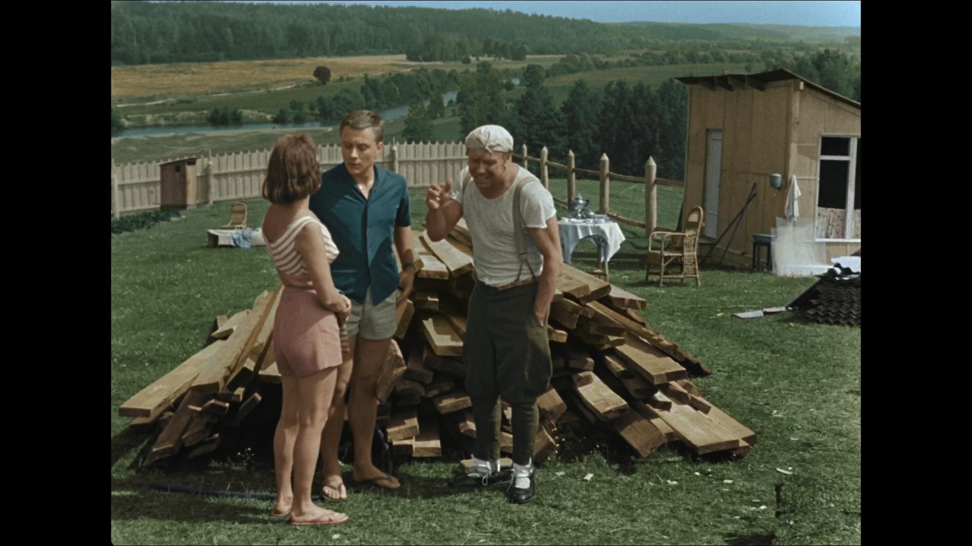 Берегись автомобиля (1966/BDRemux) 1080p, Цветная версия