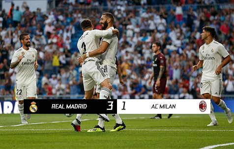 Real Madrid C.F. - A.C Milan 3:1