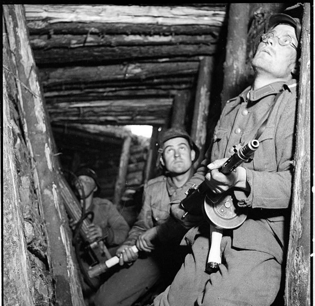 Финские солдаты, 1944.