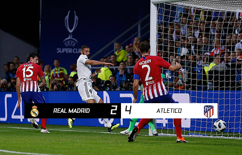 Real Madrid C.F. - Club Atletico de Madrid 2:4