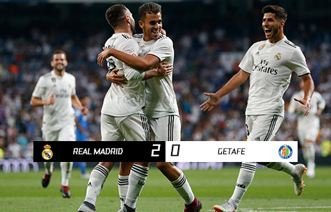 Real Madrid C.F. - Getafe C.F. 2:0