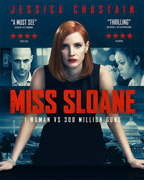 Опасная игра Слоун / Мисс Слоун / Miss Sloane (2016) BDRip 1080p | iTunes