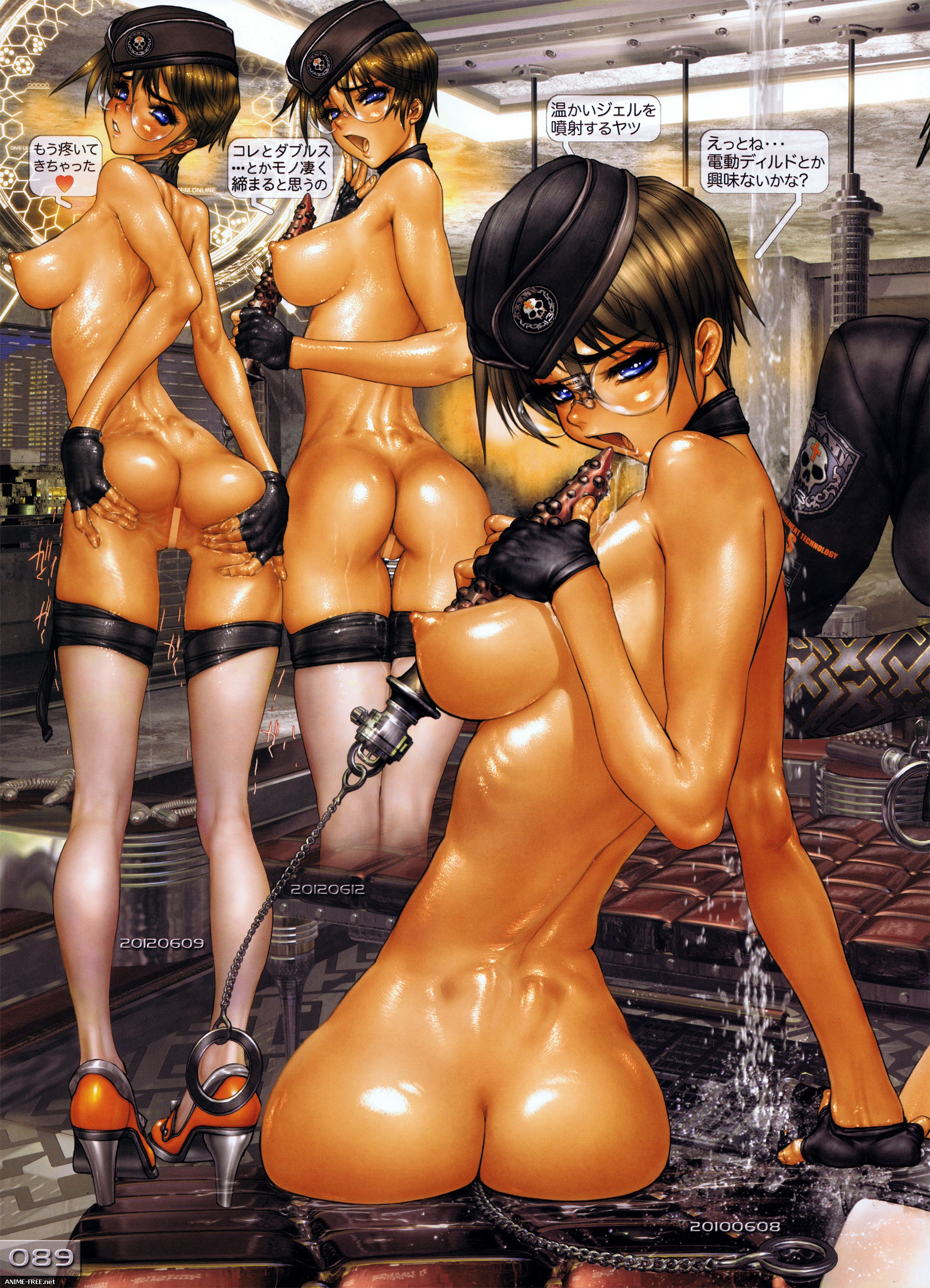 Masamune Shirow Artbooks [Cen] [JPG] Hentai ART